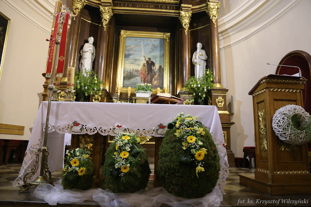 Dekoracje Wielkanocne Parafia Pw św Jana Chrzciciela W